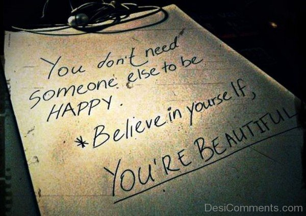 Believe In Yourself You're Beautiful-ybe2004DC071