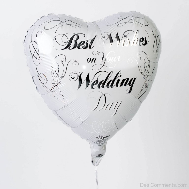 Best Time Of Day For Wedding: Best Wishes On Your Wedding Day.