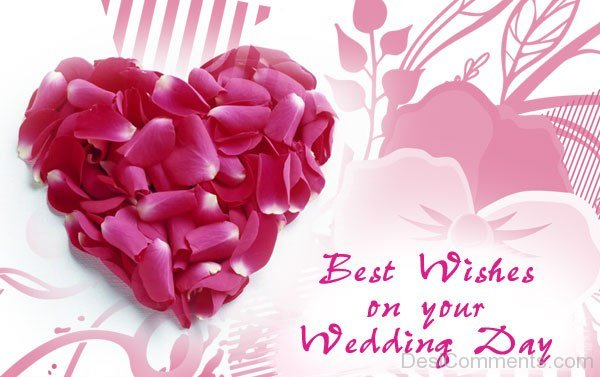 best wishes on your wedding day  desicomments