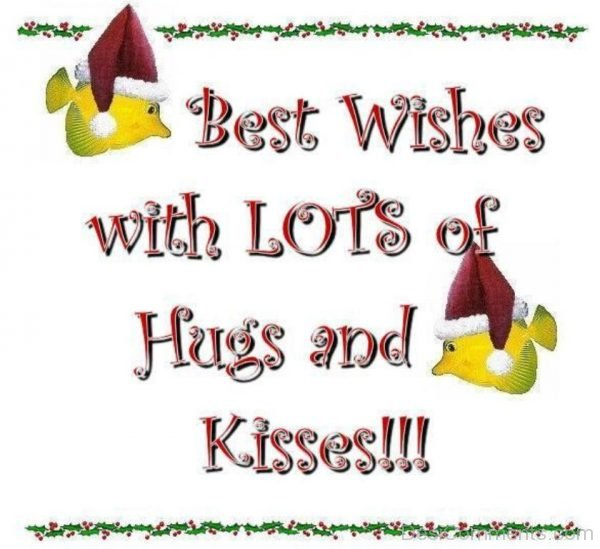 Best Wishes With Lots Of Hugs And Kisses-DC027