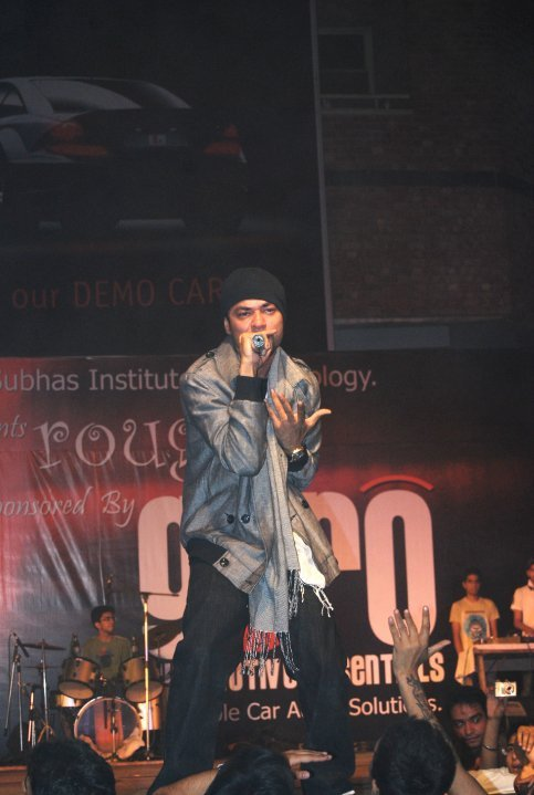 Bohemia During A Stage Show