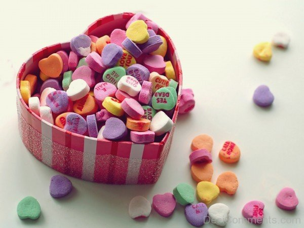 Candy Hearts Image- DC 02059