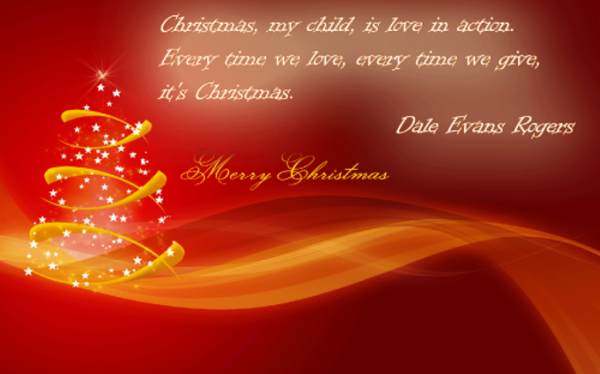 Christmas Is Love In Action-DC49