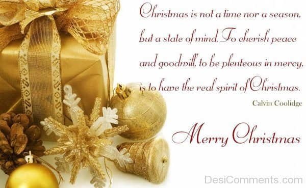 Christmas Is Not A Time Nor A Reason-DC14