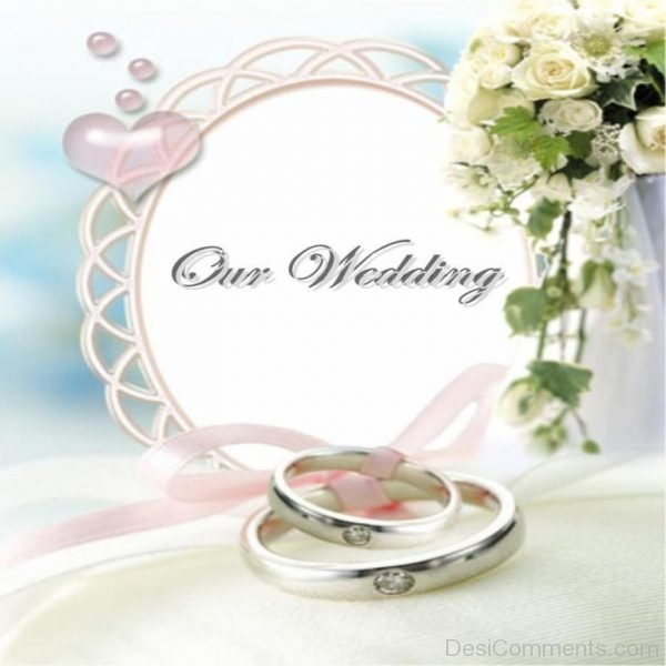 Congratulations On Our Wedding