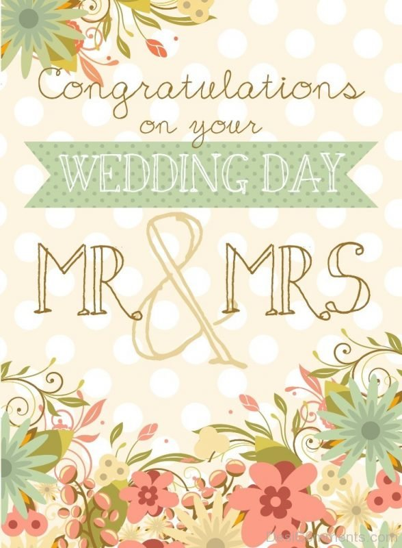 Congratulations On Your Weddind Day-DC09