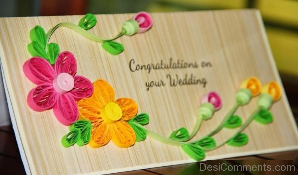 Congratulations On Your Wedding-DC13