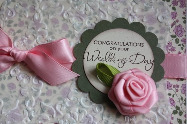 Congratulations On Your Wedding Day...-DC11