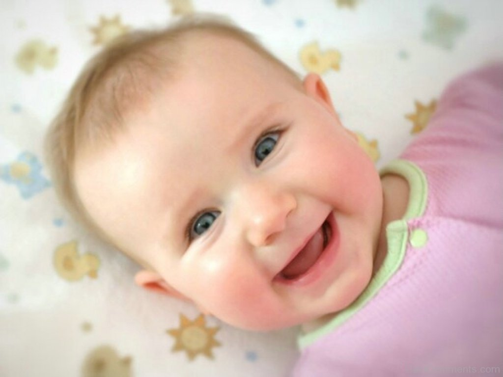 cute baby laughing - desicomments