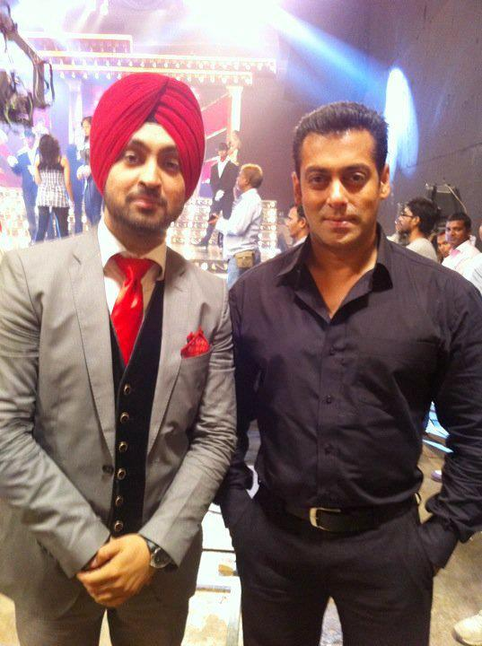Diljit Dosanjh With Salman Khan - DesiComments.com