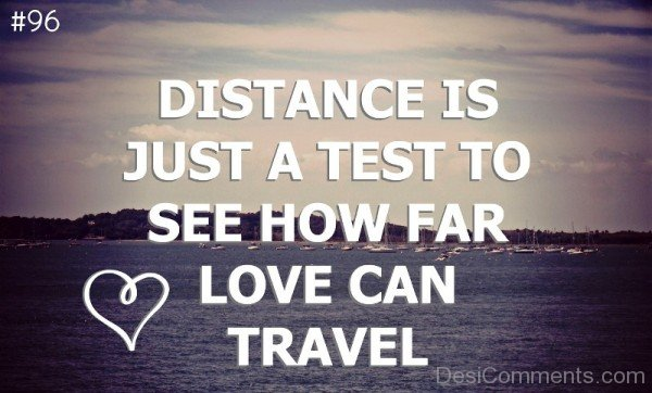 Distance Is just a test- DC505