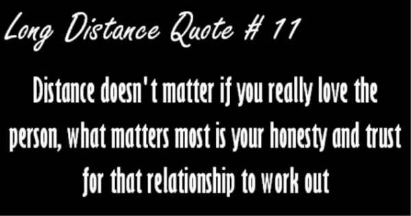 Distance doesn't matter- DC563