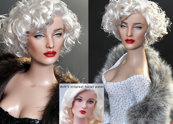 Doll Repaint In Madonna Style