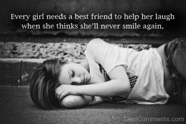 Every girl needs a best friend-DC033