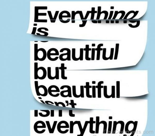 Everything Is Beautiful-DC025