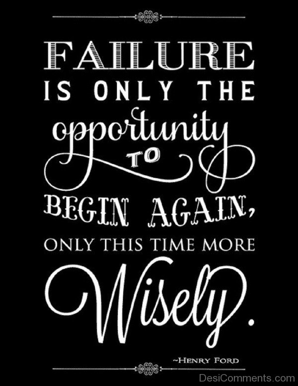 Failure Is Only The Opportunity-DC0F206
