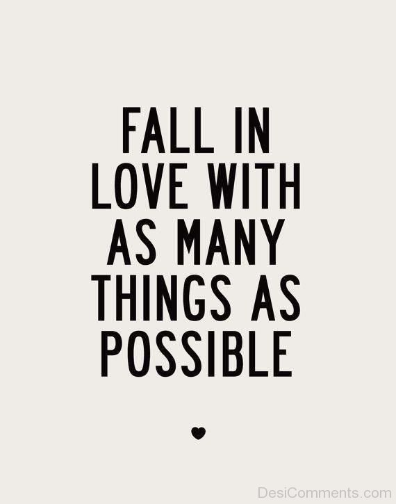 Fall In Love With As Many Things As Possible-DC09DC04