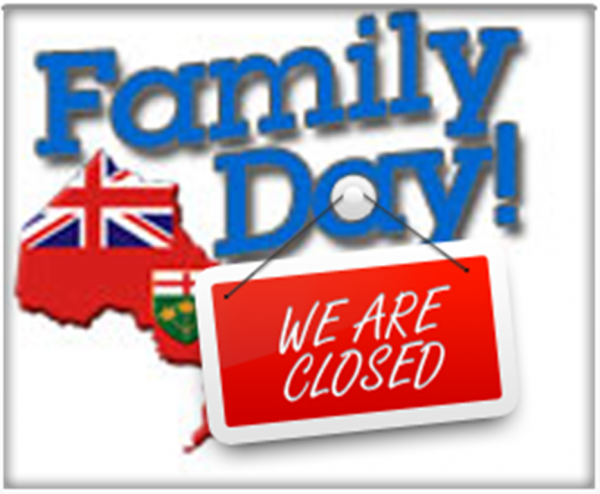 Family Day - We Are Closed-DC41