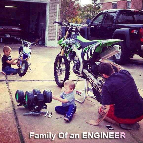 Family Of An Engineer
