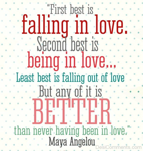 First Best Is Faliing In Love - DC426