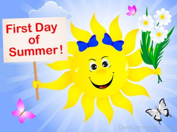 First Day Of Summer ! - DesiComments.com