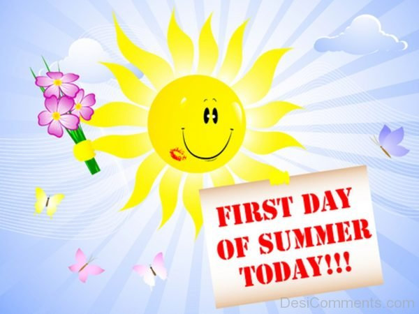 First Day Of Summer Today-DC26