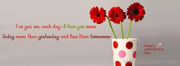 For You See,Each Day I Love You More-ybn613DC38