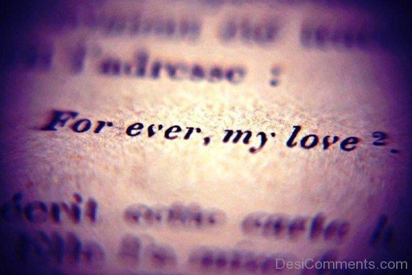 Forever,My Love-YTE305DC21