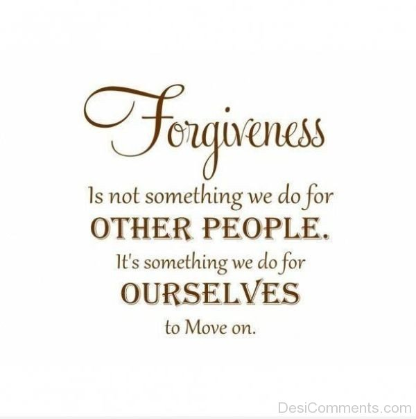 Picture: Forgiveness