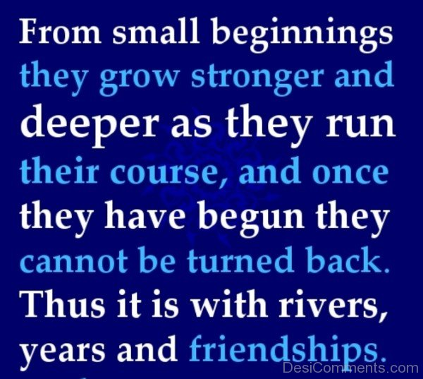 From Small Beginnings They Grow Stronger-DC067