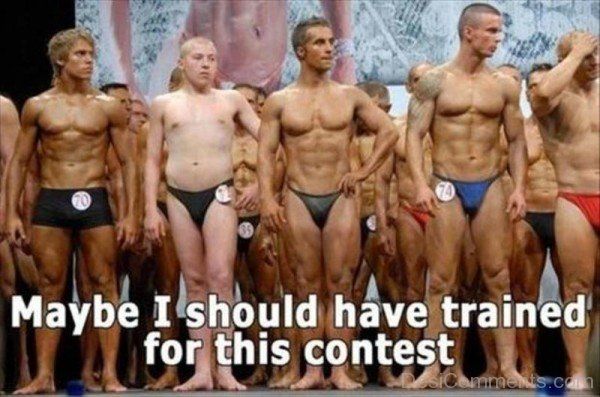Funny Awkward Moments Body Builders-DC16