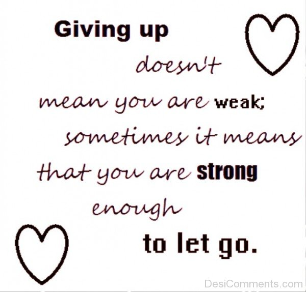 Giving up-DC0p6028