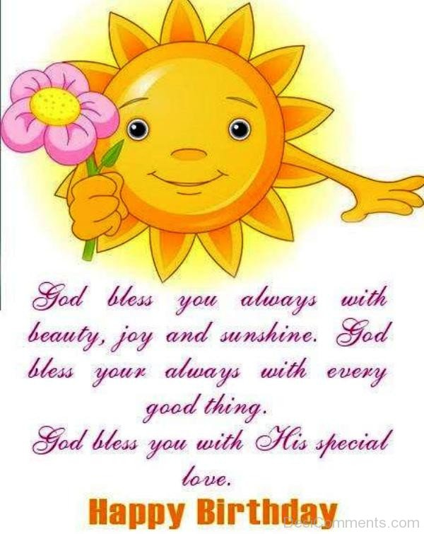 God Bless You Always With Beauty And Joy