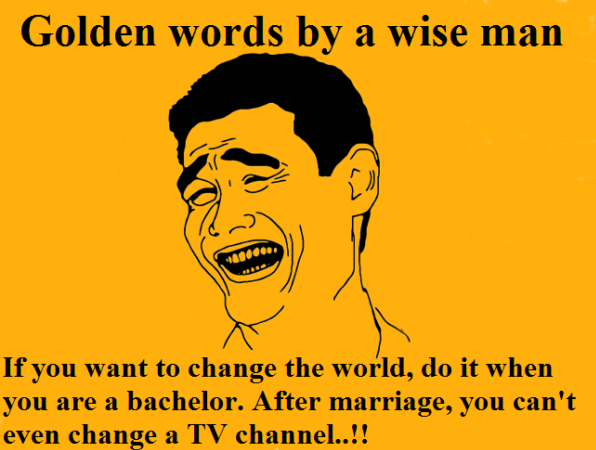 Golden Word By A Wise Man