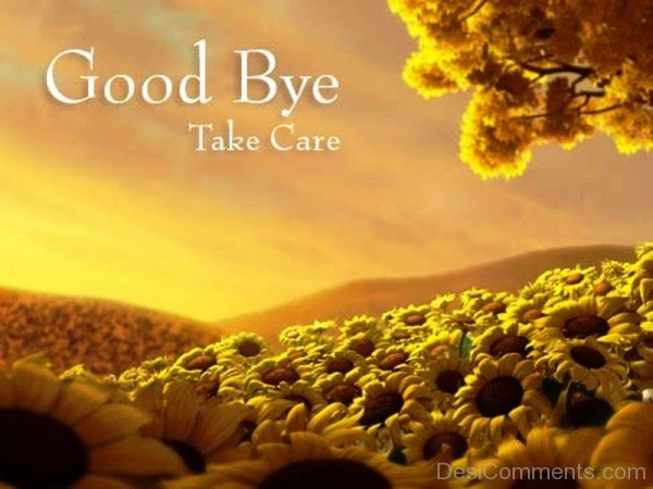 Picture: Good Bye Take Care