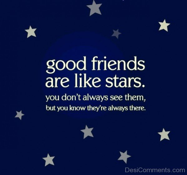 Good Friends Are Like A Stars-dc099090
