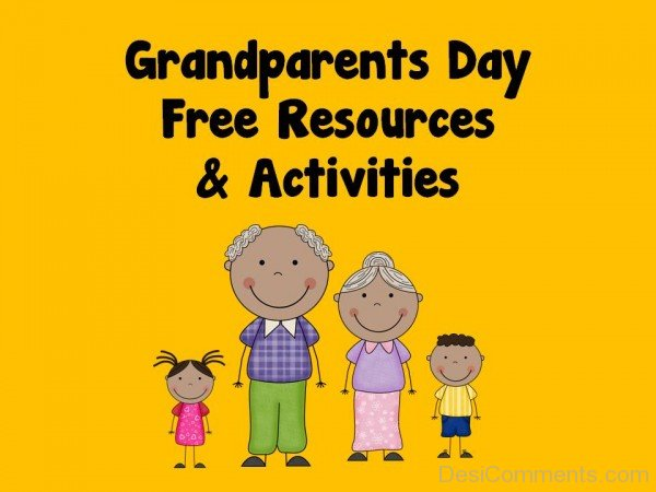 Picture: GrandParents Day Free Resources And Activities