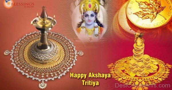 Happy Akshaya Tritiya With Blessings
