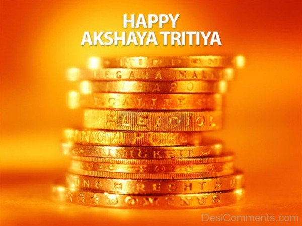 Happy  Akshaya Tritiya With Gold