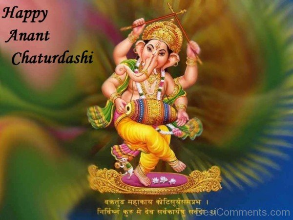 Happy  Anant Chaturdashi