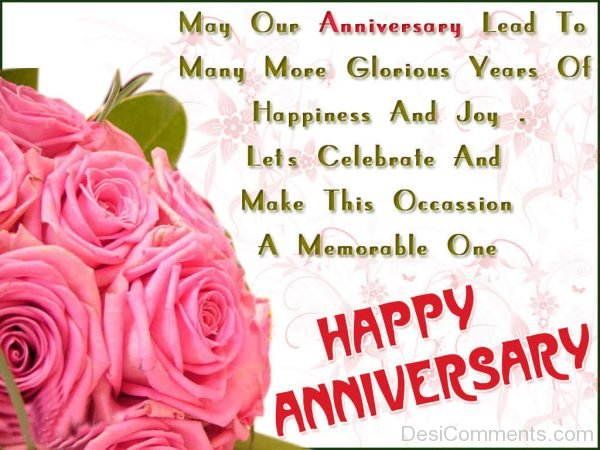 Happy Anniversary - May Our Anniversary-DC14