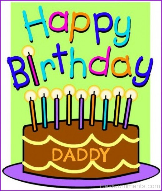 Happy Birthday Daddy Image