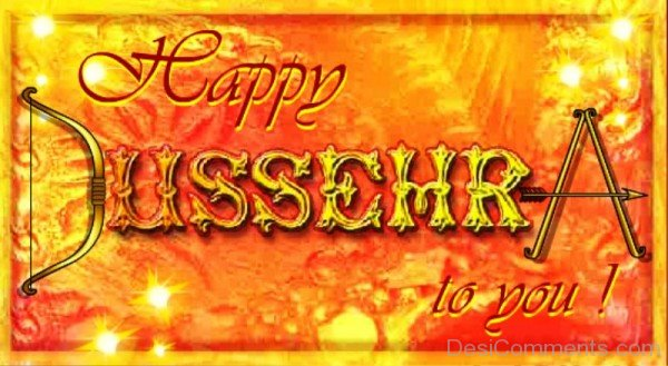 Picture: Happy Dussehra To You!