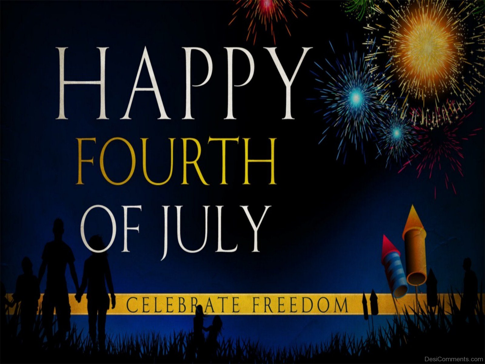 Happy fourth of july celebrate freedom for Why is 4th of july celebrated