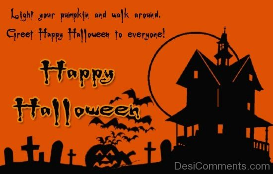 Happy Great Halloween To Everyone