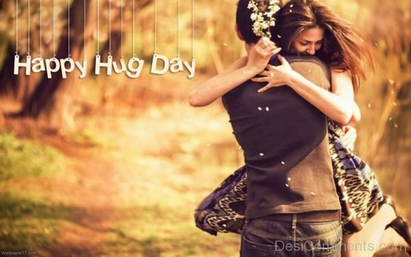 Happy Hug Day Image-DC035