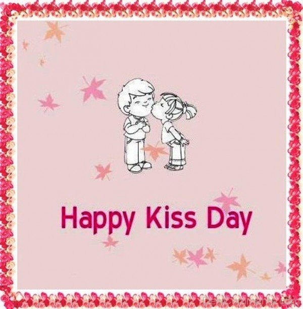 Happy Kiss Day Cute Couple-fty706DESI16