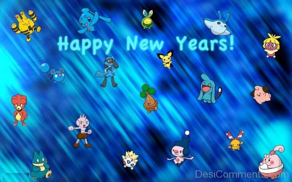 Happy New Year With Pokemons-DC50
