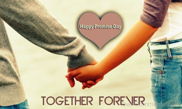 Happy Promise Day Together Forever-hbk507DESI23