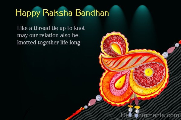 Happy Raksha Bandhan - Like A Thread